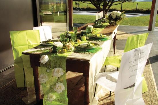 table vert marron 550x367 - Mariage