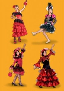 enfant carnaval espagnole 212x300 - Déguisement carnaval 2017