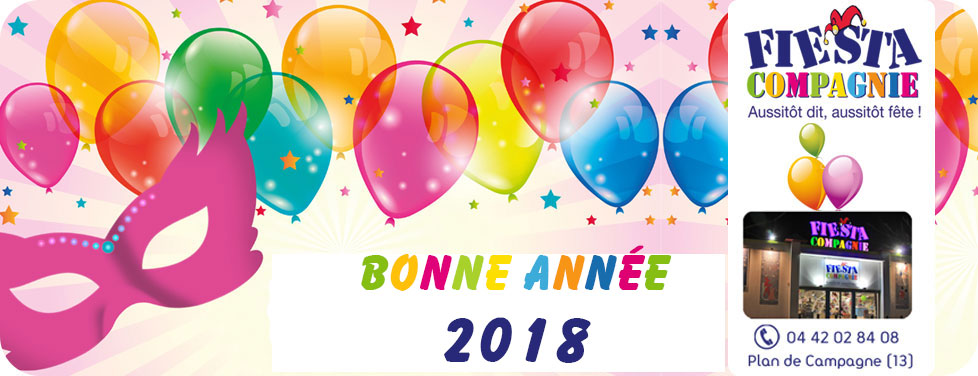 slide accueil 2018 - Magasin Fêtes